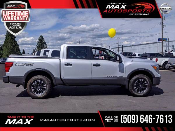 Photo 2018 Nissan Titan PRO-4X Pickup at OUTRAGEOUS SAVINGS - $40,980 (Max Autosports of Spokane)