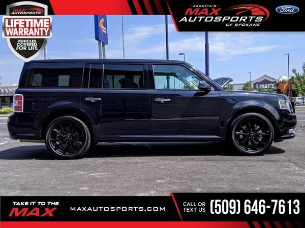 Photo 2019 Ford Flex SEL AWD $415 mo - LIFETIME WARRANTY - $32,999 (Max Autosports of Spokane)