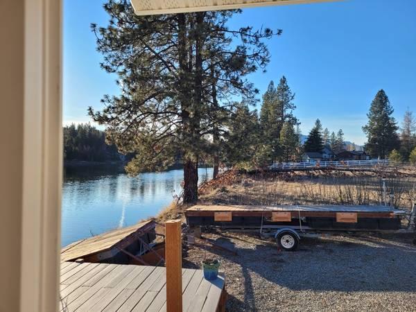Photo Boat Dock, Swim Platform and Trailer - $2,300 (Thompson Falls)