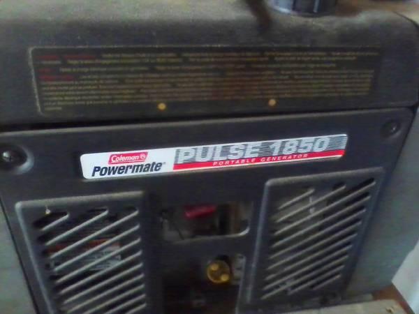 Photo Coleman Powermate Generator Price Drop - $140 (Polson)