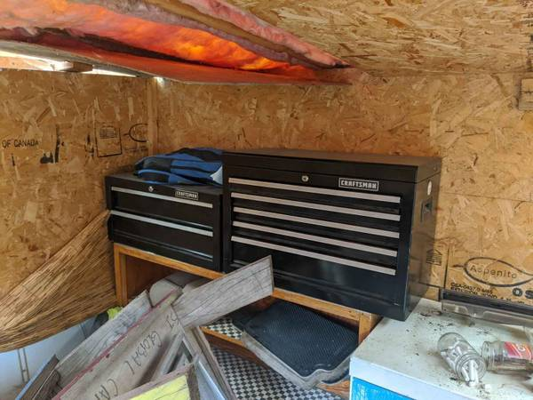 Photo Craftsman tools and tool boxes - $700
