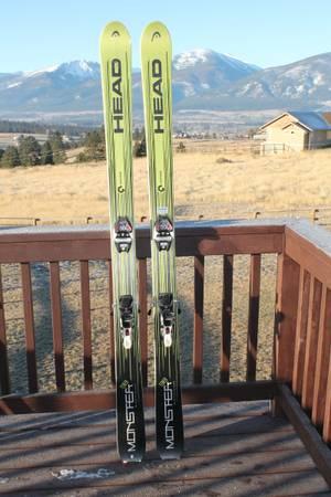 Photo HEAD Monster 184 x 98 skis - $350