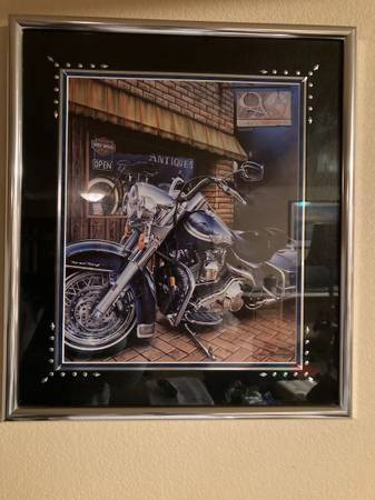 Photo Harley Davidson Motorcycle print - $200 (Missoula)