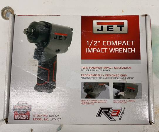 Photo Jet JAT-107 12 inch air impact wrench NIB - $75