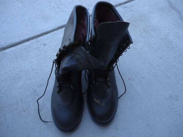 Photo Lehigh steel toe boots, size 11.5 wide,used but like new, only $25 - $25 (Missoula)