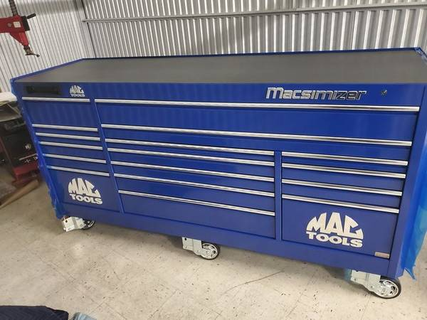 Photo MAC 3 Bank Macsimizer tool chest - $10,500 (Missoula)