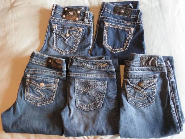 Photo Miss Me  Silver Jeans-size 26 (Missoula)