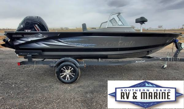 Photo New 2021 MirroCraft F176 Dual Impact 115 HP Mercury - $32,458 (Jerome All New Boats for Wholesale)