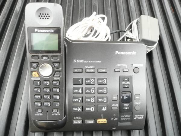 Photo Panasonic 5.8 Ghz Cordless Phone - $10 (Missoula)