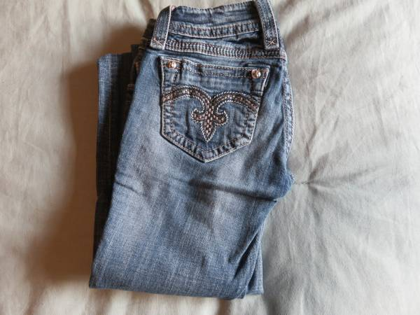 Photo Rock Revival Jeans-size 24 - $35 (Missoula)