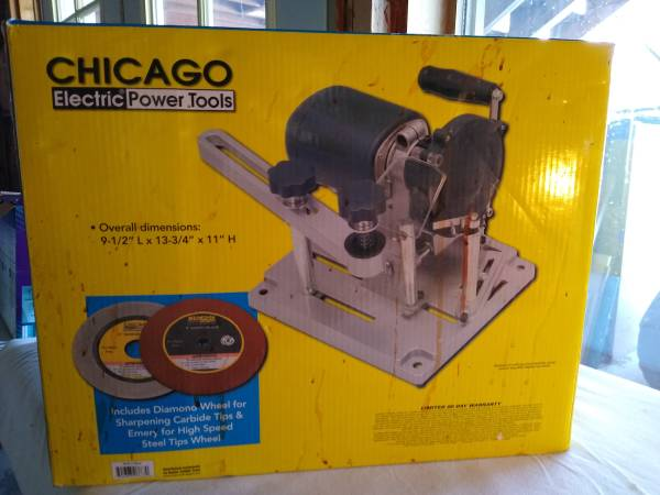 Photo SAW BLADE SHARPENER by Chicago Electric Power Tools - $40 (Victor)