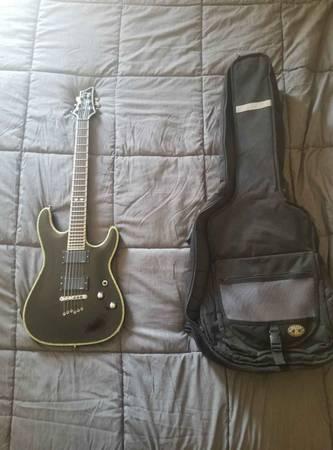 Photo Schecter C1 elite diamond series guitar - $650