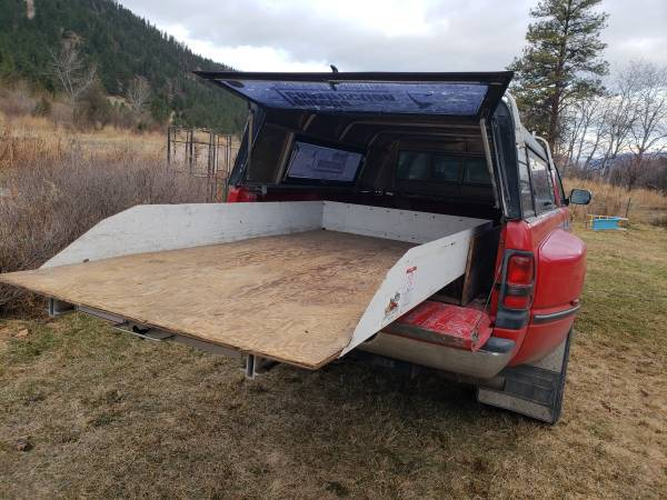Photo Slide Out Truck Bed with Custom Built Storage - $950 (Dixon)