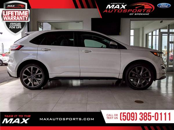 Photo This 2016 Ford Edge Sport SUV is PRICED TO SELL - $28,980 (Max Autosports of Spokane)