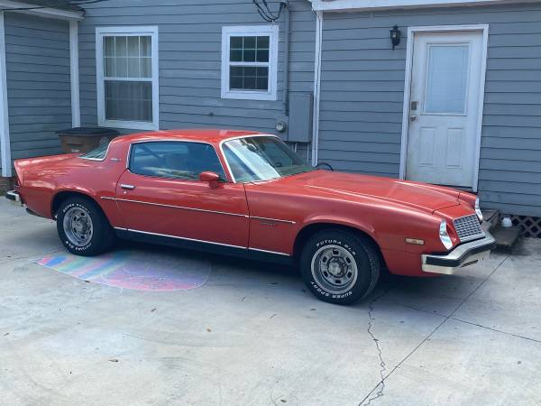 Photo 1975 Camaro survivor - $18,000 (Midtown Mobile)