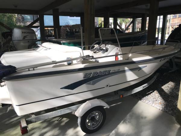Photo 1997 Boston Whaler Rage 15ft CC....RARE BOAT - $5900 (Foley, AL)