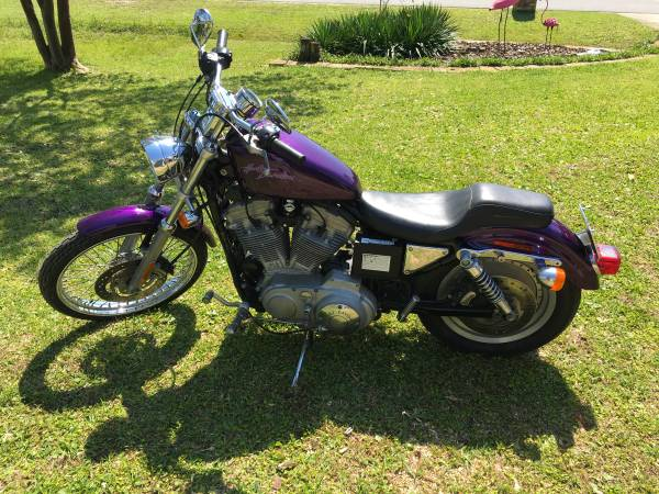 Photo 2000 Harley Davidson Sportster - $3,250 (Pensacola)
