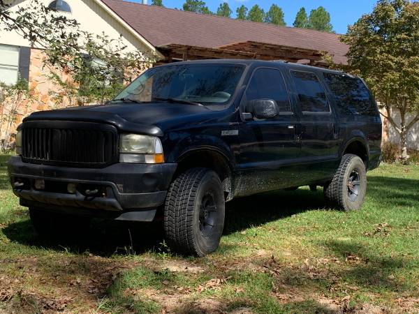 Photo 2002 Ford Excursion xlt limited 7.3 - $12,000 (Bay Minette)