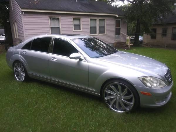 Photo 2008 Mercedes S550 - $14,000 (Mobile)