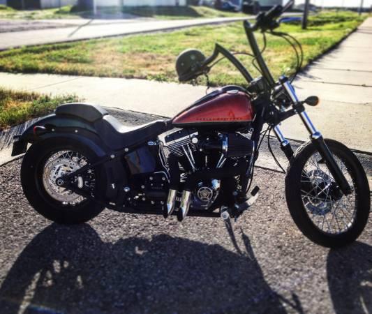 Photo 2011 Harley Davidson Blackline - $10,500 (Navarre)