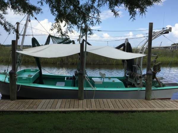 Photo 3039 Lafitte Skiff Shrimp Boat - $38,500 (Mobile, AL)