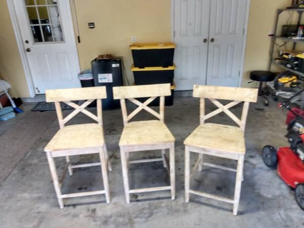Photo 3- Bar Chairs - $96 (Orange Beach)