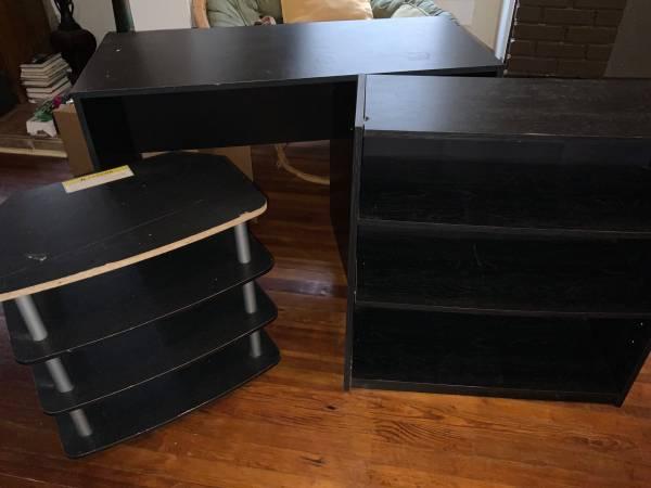 Photo Computer desk, shelf, and stand - $50 (Mobile)
