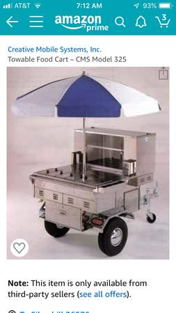 Photo Hot dog cart - $3000 (Silverhill)