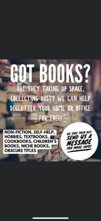 Photo Let me take your books. - $0 (Pensacola)