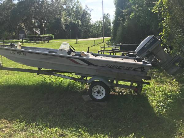 Photo Project Boat 2003 AlumCraft - $850
