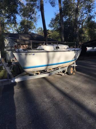 Photo S-2 6.7 Sailboat - $1,800 (Fairhope)