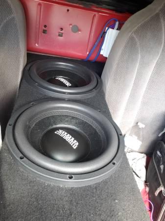 Photo Sundown audio e10 v3 dual 4ohm subwoofers - $250 (theodore)