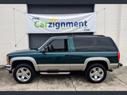 Photo Used 1996 Chevrolet Tahoe 4WD 2-Door for sale