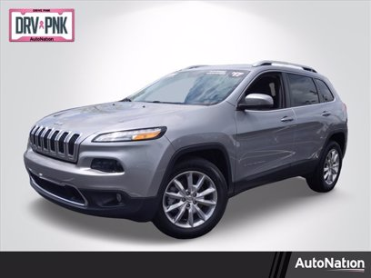 Photo Used 2017 Jeep Cherokee Limited for sale