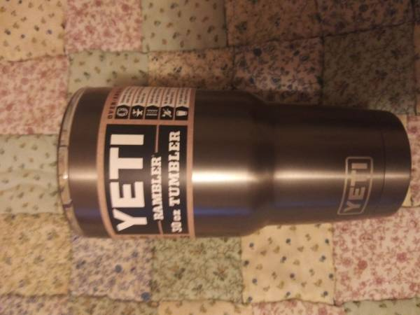 Photo Yeti Rambler 30oz Tumbler - $30 (Summerdale)