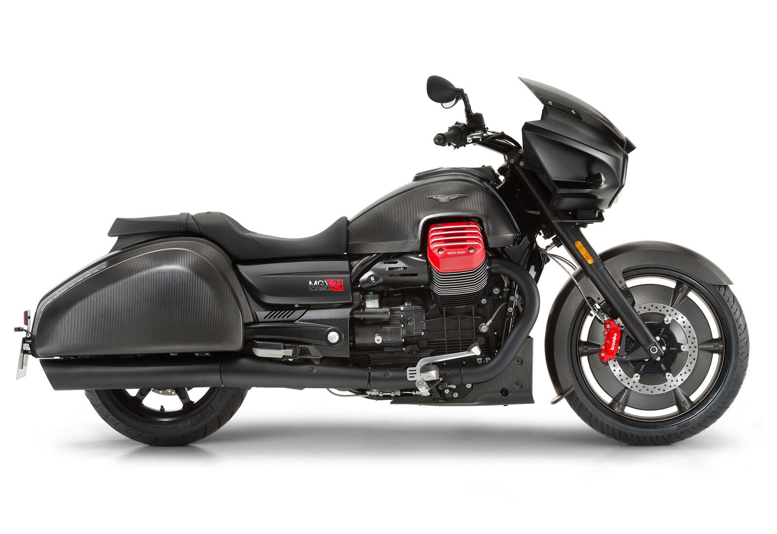 Photo 2020 Moto Guzzi MGX 21 FLYING FORTRESS MATT $21990