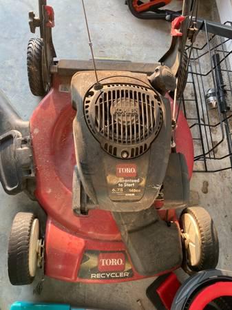 Photo lawn mower TORO SELF PROPELLED - $70 (Gulf Shores)