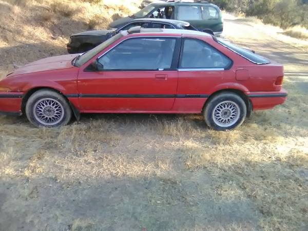 Photo 1988 Acura Integra LS parts car - $850 (Livermore)