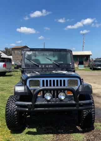 Photo 1992 Jeep Wrangler YJ - $6500 (Turlock)