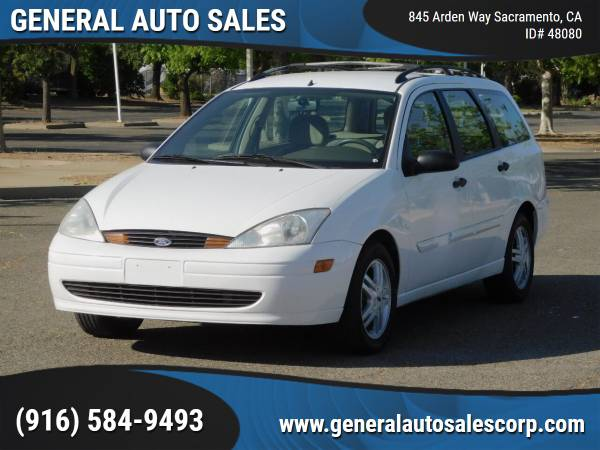 Photo 2000 Ford Focus Station Wagon  Clean Title  Low Miles  One Owner - $3,500 ($990 Down Most Cars)
