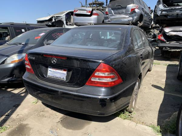 Photo 2003 Mercedes C320 (Parting Out) (Modesto)