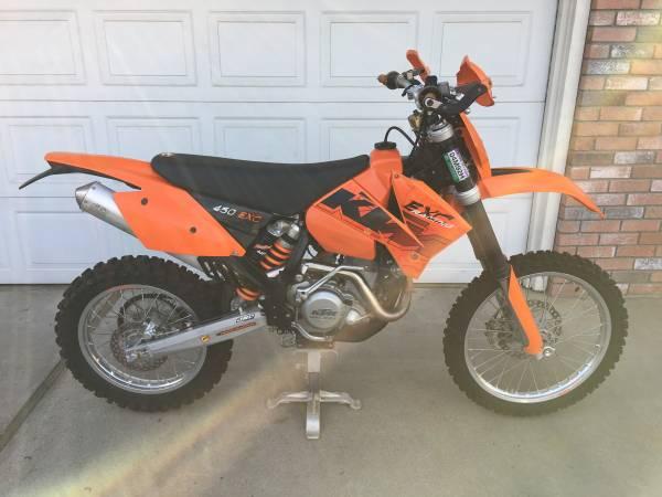 Photo 2006 KTM EXC 450 - $4,500 (Modesto)