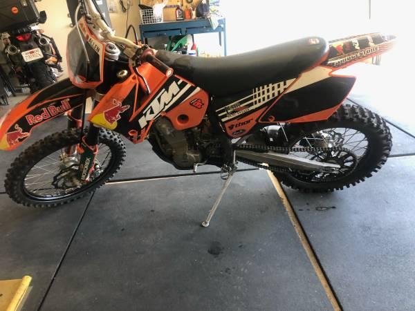 Photo 2007 KTM 450 EXC - $3,500 (Patterson)