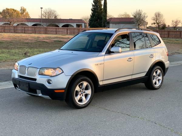 Photo 2008 BMW X3 AWD 3.0si..... CLEAN  LOW MILES  328i - $7700 (Tracy)
