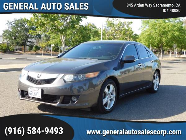Photo 2009 Acura TSX wTech 4dr Sedan 6M wTechnology Package  Like New - $7,990 ($990 Down Most Cars)