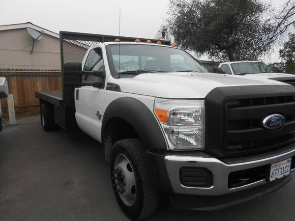 Photo 2011 Ford F-550 FLATBED 14.539 - $29,995 (OAKDALE)