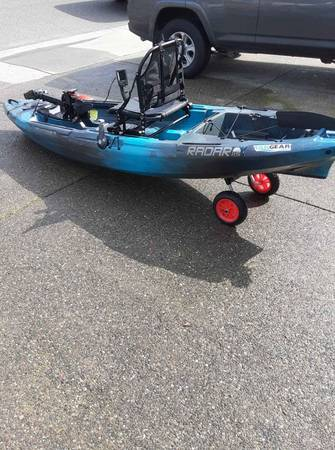 Photo 2018 Wilderness Systems Radar 115 Pedal Drive fishing kayak - $1700 (Oakdale)