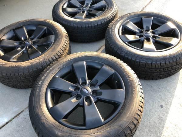 Photo 20s F-150, ExpeditionBrand New tires, semi-new wheels-Hablo es - $1,100 (Modesto)
