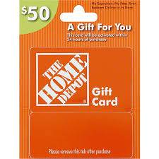 Photo $50 Home Depot gift card - $40 (Ripon)