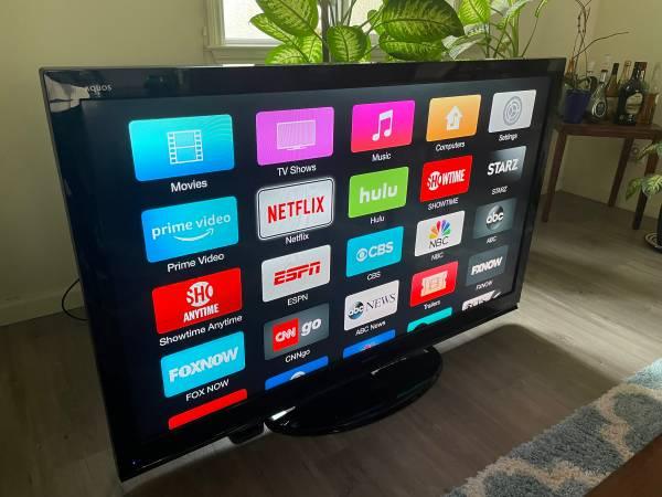 Photo 60quot Sharp TV with Harman Kardon Home Theater System - $400 (Modesto)